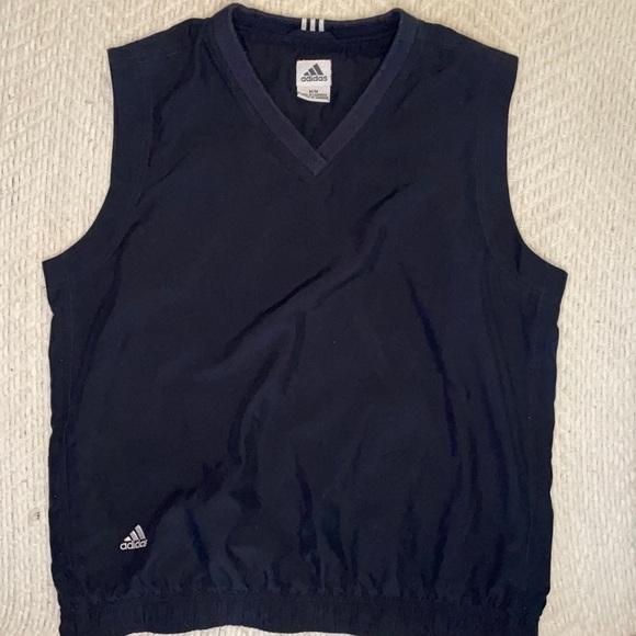 Adidas vintage climashell v neck vest